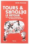 """Couverture du livre : """"Tours et détours, le retour"""""""