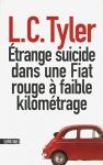 """Couverture du livre : """"Étrange suicide dans une Fiat rouge à faible kilométrage"""""""