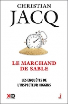 """Couverture du livre : """"Le marchand de sable"""""""