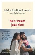 """Couverture du livre : """"Nous voulons juste vivre"""""""