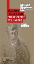 """Couverture du livre : """"Jacques Lusseyran"""""""