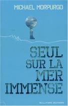 """Couverture du livre : """"Seul sur la mer immense"""""""