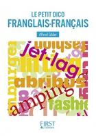 """Couverture du livre : """"Le petit dico franglais-français"""""""