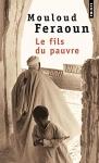 """Couverture du livre : """"Le fils du pauvre"""""""