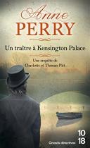 """Couverture du livre : """"Un traître à Kensington Palace"""""""