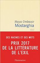 """Couverture du livre : """"Mostarghia"""""""