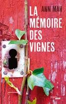 """Couverture du livre : """"La mémoire des vignes"""""""