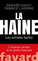 """Couverture du livre : """"La haine"""""""