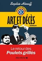 """Couverture du livre : """"Art et décès"""""""