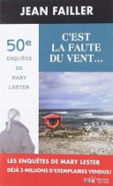"""Couverture du livre : """"C'est la faute du vent ..."""""""