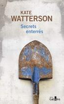 """Couverture du livre : """"Secrets enterrés"""""""