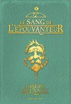 """Couverture du livre : """"Le sang de l'épouvanteur"""""""