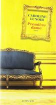 """Couverture du livre : """"Première dame"""""""