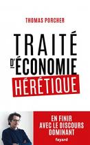 """Couverture du livre : """"Traité d'économie hérétique"""""""