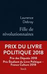 """Couverture du livre : """"Fille de révolutionnaires"""""""