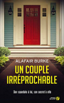 """Couverture du livre : """"Un couple irréprochable"""""""