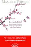 """Couverture du livre : """"La probabilité mathématique du bonheur"""""""