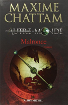 """Couverture du livre : """"Malronce"""""""