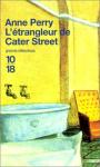 """Couverture du livre : """"L'étrangleur de Cater Street"""""""