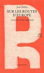 """Couverture du livre : """"Sur les routes d'Europe"""""""