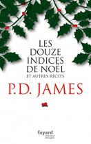 """Couverture du livre : """"Les douze indices de Noël"""""""