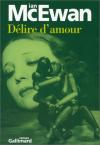 """Couverture du livre : """"Délire d'amour"""""""
