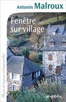 """Couverture du livre : """"Fenêtre sur village"""""""