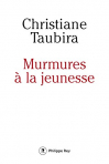 """Couverture du livre : """"Murmures à la jeunesse"""""""
