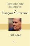 """Couverture du livre : """"Dictionnaire amoureux de François Mitterand"""""""