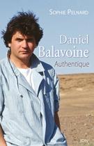 """Couverture du livre : """"Daniel Balavoine"""""""