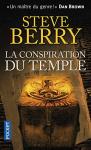 """Couverture du livre : """"La conspiration du temple"""""""