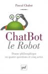 """Couverture du livre : """"Chatbot le robot"""""""