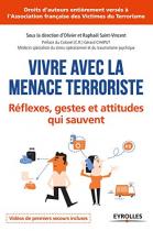 """Couverture du livre : """"Vivre avec la menace terroriste"""""""