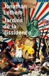 """Couverture du livre : """"Jardins de la dissidence"""""""
