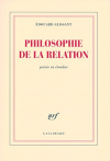 """Couverture du livre : """"Philosophie de la relation"""""""