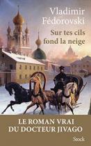 """Couverture du livre : """"Sur tes cils fond la neige"""""""
