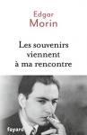 """Couverture du livre : """"Les souvenirs viennent à ma rencontre"""""""