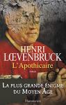 """Couverture du livre : """"L'apothicaire"""""""