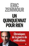"""Couverture du livre : """"Un quinquennat pour rien"""""""
