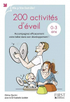 """Couverture du livre : """"200 activités d'éveil, 0 à 3 ans"""""""