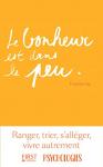 """Couverture du livre : """"Le bonheur est dans le peu"""""""