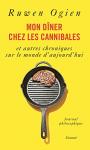 """Couverture du livre : """"Mon dîner chez les cannibales"""""""