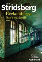 "Couverture du livre : ""Beckomberga"""