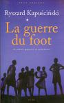 """Couverture du livre : """"La guerre du foot"""""""