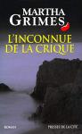 """Couverture du livre : """"L'inconnue de la crique"""""""
