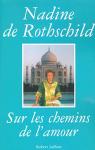 """Couverture du livre : """"Sur les chemins de l'amour"""""""