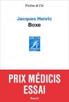 """Couverture du livre : """"Boxe"""""""