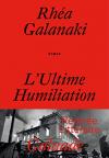 """Couverture du livre : """"L'ultime humiliation"""""""