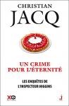 """Couverture du livre : """"Un crime pour l'éternité"""""""