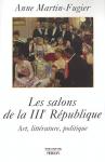 """Couverture du livre : """"Les salons de la Troisième République"""""""